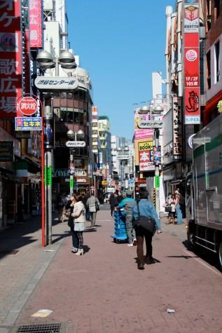 Sunday morning in Shibuya