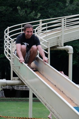 Riding the Slide