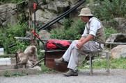 Our dear monkey keeper