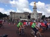 Ending at Buckingham palace