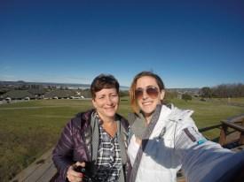 Lake Taupo selfie