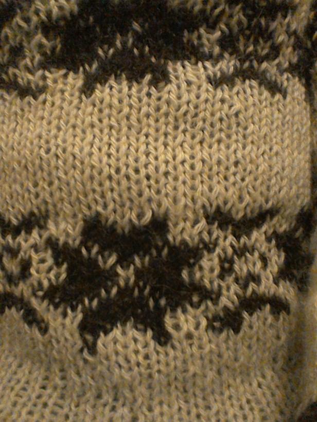 Fairisle detail of my jumper
