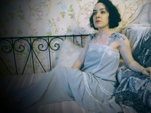 Twenties style pyjamas