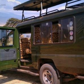 Safari Jeep Crater Lake Ngorogoro Tanzania | The Girl Next Door is Black