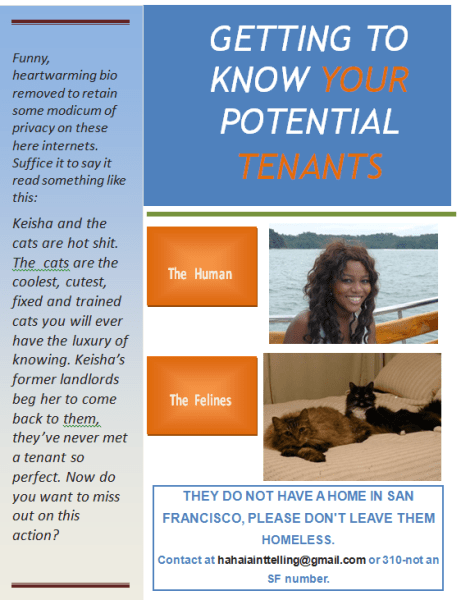 """Finding an apartment to rent in San Francisco is harder than finding a job!   Read More on The Girl Next Door is Black in """"The Great San Francisco Apartment Hunt"""""""