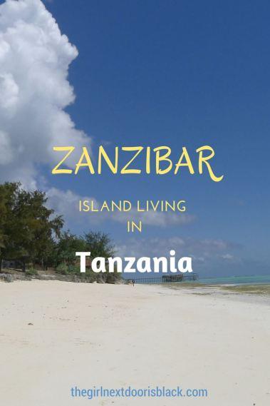 East Coast Beach in Zanzibar, Tanzania | The Girl Next Door is Black