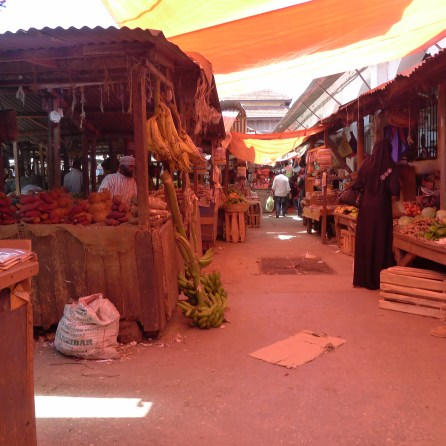 Open Air Markets Zanzibar Tanzania | The Girl Next Door is Black