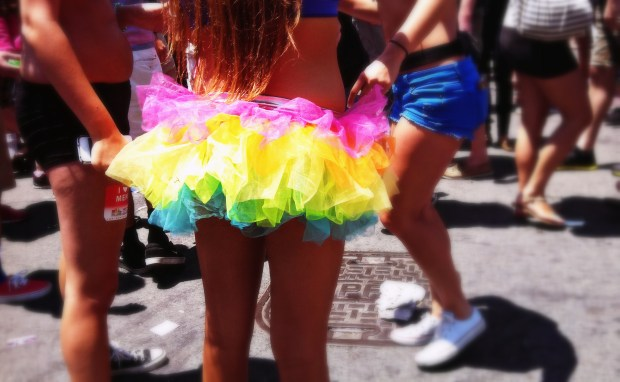 Rainbow tutus were all the rage (I'm so getting one next year!).