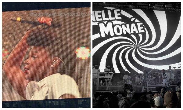 Janelle Monae @ Treasure Island Music Festival 2014 | The Girl Next Door is Black