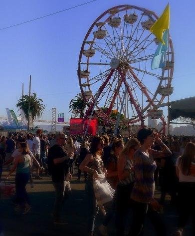 Treasure Island Music Festival 2014 Ferris Wheel | The Girl Next Door is Black
