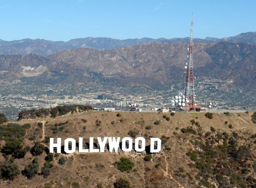 Hollywood Sign View of Los Angeles Basin Photo cr: Mary-Austin and Scott, flickr.com | The Girl Next Door is Black