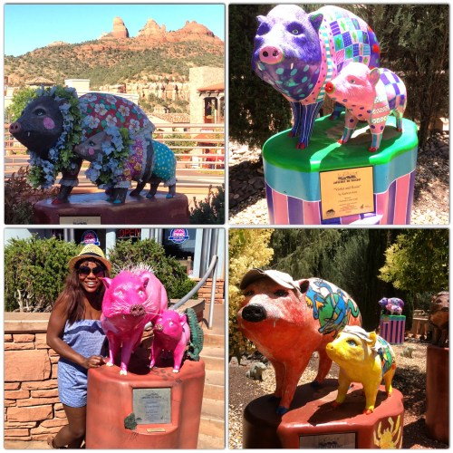 "Javelinas on Parade, Sedona Arizona from ""Girls' Weekend Getaway in Sedona"" 