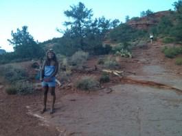 black girl Sedona Arizona