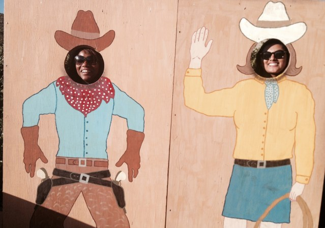 Cowboy Cowgirl Cutout Sedona