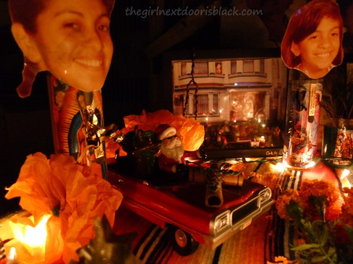 Day of the Dead Altar   The Girl Next Door is Black