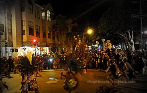 Aztec Dancers at Dia de los Muertos San Francisco 2014 | The Girl Next Door is Black
