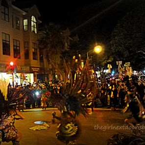 Aztec Dancers at Dia de los Muertos San Francisco 2014 | The Girl Next Door is Black