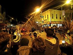 Aztec Dancers at Dia de los Muertos San Francisco 2014 | The Girl Next Door