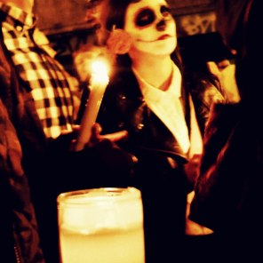 Candles, Dia de los Muertos San Francisco 2014 | The Girl Next Door is Black