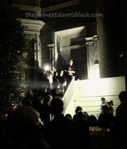 Day of the Dead Stoop San Francisco | The Girl Next Door is Black