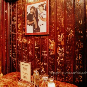 Booth at John's on Bleecker Street | The Girl Next Door is Black
