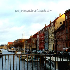 """Little Amsterdam"" in Christianshavn, Copenhagen Denmark 