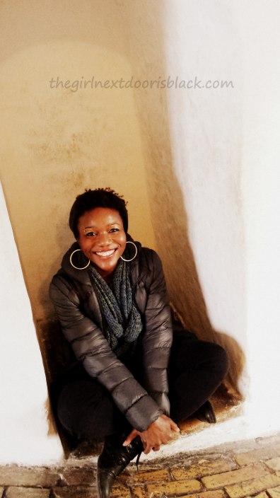 In cubby Rundetårn Copenhagen | The Girl Next Door is Black