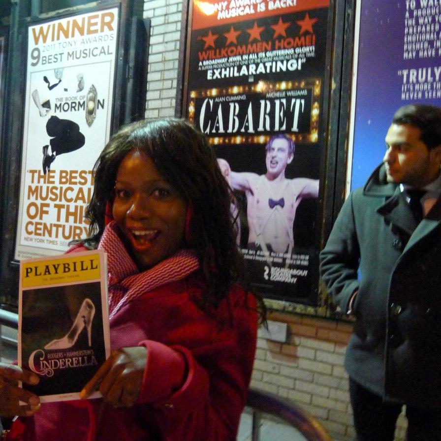 Cinderella Stage Door Broadway | The Girl Next Door is Black