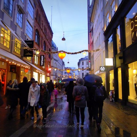 Strøget Copenhagen | The Girl Next Door is Black