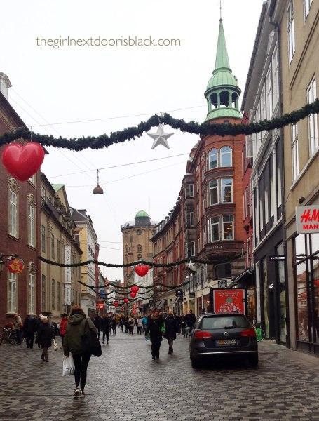 Strøget in December, Copenhagen Denmark | The Girl Next Door is Black