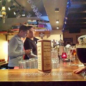 Bartenders Saloon Bar   The Girl Next Door is Blaack