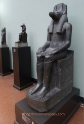 Jackal-headed God Carlsberg Glyptotek Copenhagen | The Girl Next Door is Black