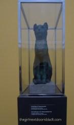 Sarcophagus of Cat Carlsberg Glyptotek Copenhagen   The Girl Next Door is Black