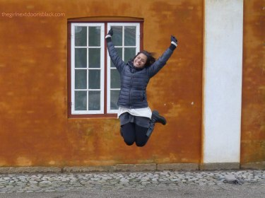 z jumps in Helsingør Denmark