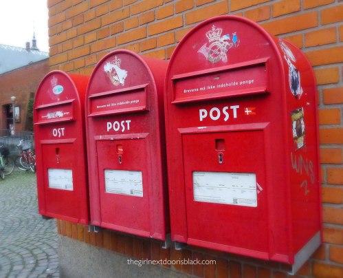 denmark postal boxes Helsingør