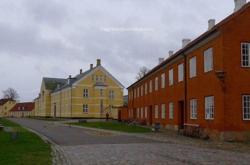 Colorful grounds Kronborg Castle