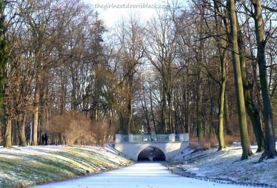 Łazienki Park 1 Bridge | The Girl Next Door is Black