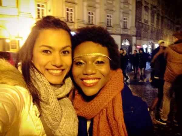 Friends in Prague NYE | The Girl Next Door is Black