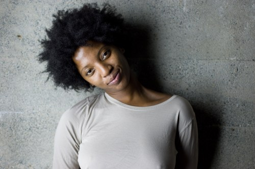 A Black Woman With Natural Hair by kris krüg
