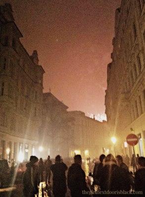 NYE 2015 in Prague Fireworks | The Girl Next Door is Black