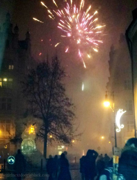 NYE 2015 in Prague Fireworks | The Girl Next Door is Black