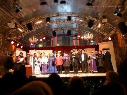 German Carols Christmas market Berlin
