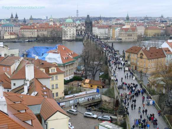 New Town Prague from Above | The Girl Next Door is Black