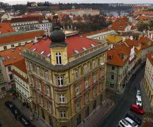 Holešovice Prague from Above | The Girl Next Door is Black