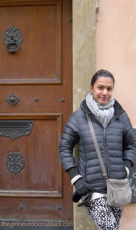 Z in Hradčany Prague | The Girl Next Door is Black