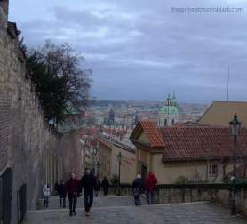 Near Prague Castle Hradčany | The Girl Next Door is Black