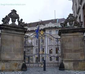 Prague Castle Gates | The Girl Next Door is Black