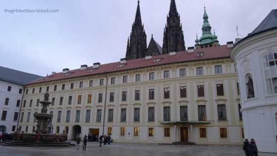 Prague Castle | The Girl Next Door is Black