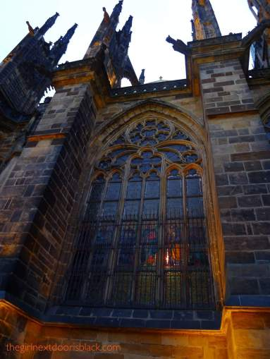 St. Vitus Cathedral Prague Castle | The Girl Next Door is Black