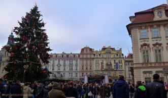 Old Town Square Prague Christmas | The Girl Next Door is Black